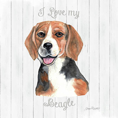 Designs Similar to I Love My Dog D by Jean Plout