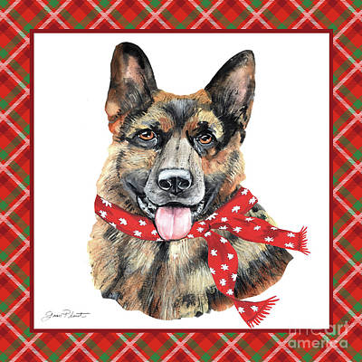 Designs Similar to Red Christmas Plaid With Dog F