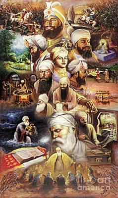 Sikh Art Original Artwork
