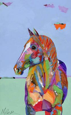 Lone Horse Original Artwork