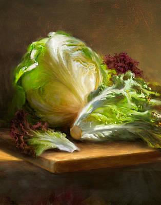 Lettuce Wall Art