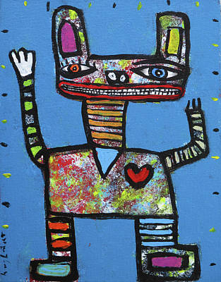 Painting - Stoner by Jeff Hughart