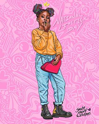 Digital Art - Coco Queen by Shonte Young Williams