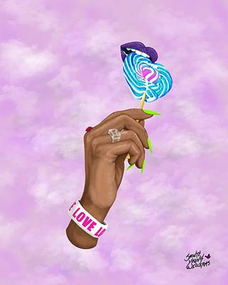 Digital Art - Love Bug by Shonte Young Williams