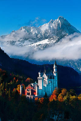 Photograph - Majestic Neuschwanstein by Sheri Vitullo
