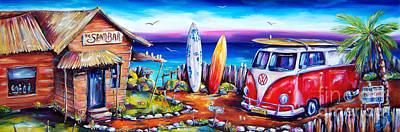 Beach Hut Paintings