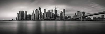 Photograph - Manhattan skyline by Sasha Samardzija