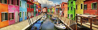 Photograph - Venetian Rainbow by Millner Stephanie