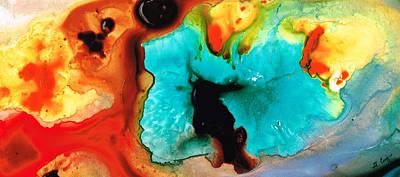 Fluid Abstracts Wall Art