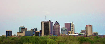 Photograph - Downtown from Afar by Tiffany J Morisue