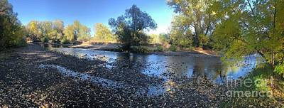 Photograph - Creek Bed Fort Collins by Sherry Little Fawn Schuessler