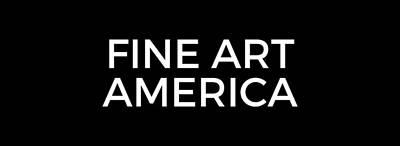 Photograph - Fine Art America Logo White by Fine Art America
