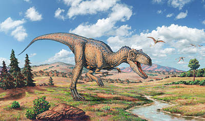 Designs Similar to Allosaurus Dinosaur
