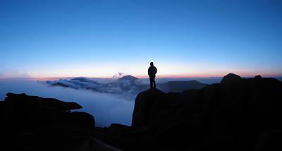 Photograph - Binnian Sunrise by Edward Benton