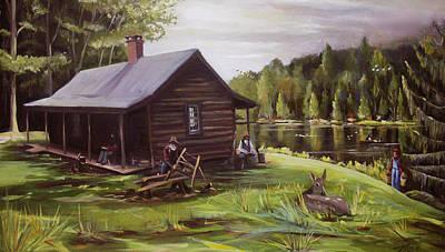 Mclean Game Refuge Paintings