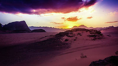 Photograph - A Bedouin Sunset by Kevin Davis