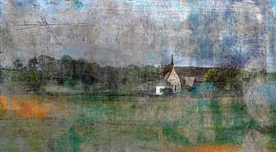 Digital Art - Church II by Vin De Rosa