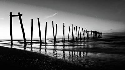 Photograph - Ocean City 59th Street Piers by Louis Dallara