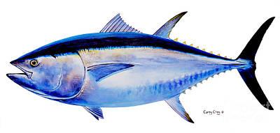 Bluefin Tuna Paintings