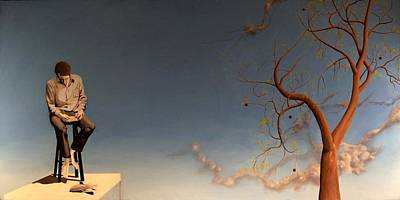 Painting - Growing by Andrew Sandberg