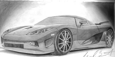 Michael Bennett Drawings