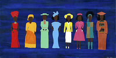 African Culture Paintings