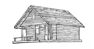 Cabin Drawings