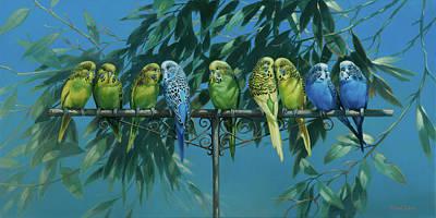 Parakeet Digital Art
