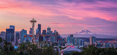 Seattle Skyline Photographs
