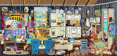 Clutter Paintings
