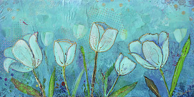 Painting - Healing Garden by Shadia Derbyshire