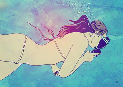 Swimming Drawings
