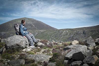 Photograph - Quiet Contemplation by Edward Benton