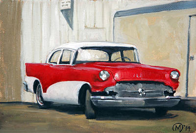Painting - Retired Fifty-seven by Maurice Morgan II