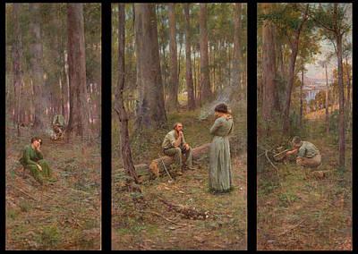 Frederick Mccubbin Paintings