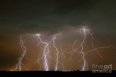 Photograph - Thunder and Lightning by JoseAngel Izquierdo