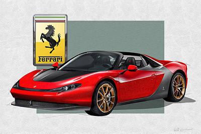 Automobile Art Prints