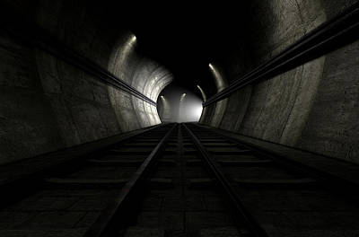 Tunnel Digital Art