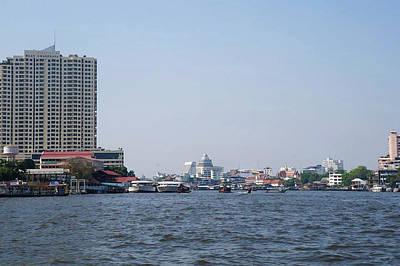 Photograph - Bangkok Scene by Mireille Roc