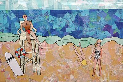 Painting - Beach Barbie by Blair Barbour