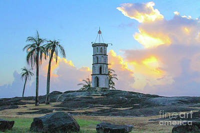 Photograph - Castle in the sky Devils Island by Carmin Wong
