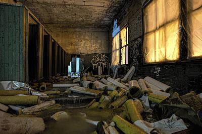 Photograph - Dangerous Bathrooms by Steven K Sembach