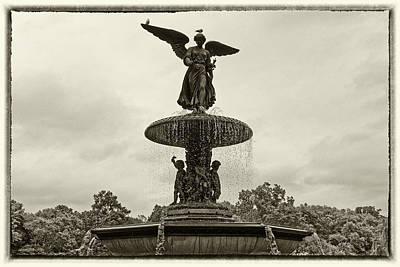 Photograph - Enchanted Bethesda Fountain by M Nuri Shakoor
