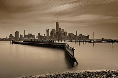 Photograph - Manhattan Hudson Love by M Nuri Shakoor