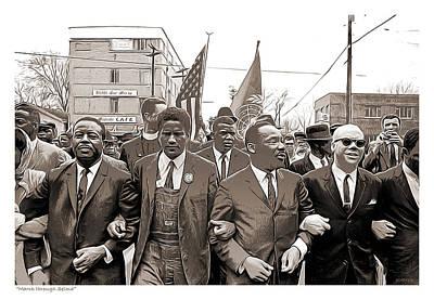 Civil Rights Mixed Media