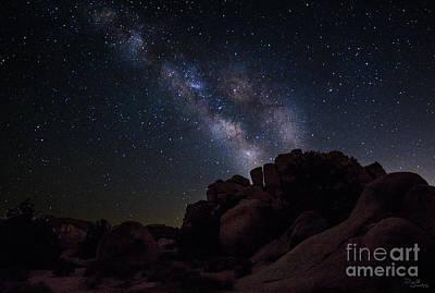 Photograph - Milky Way over Joshua Tree National Park, California by Donald Quintana