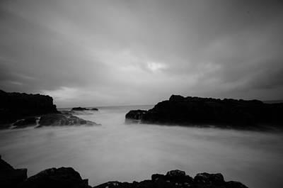 Photograph - North Coast Rocks by Edward Benton