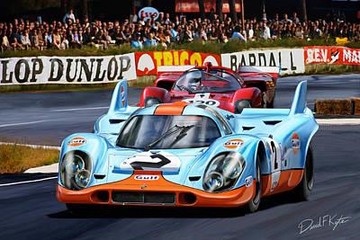 Le Mans Digital Art