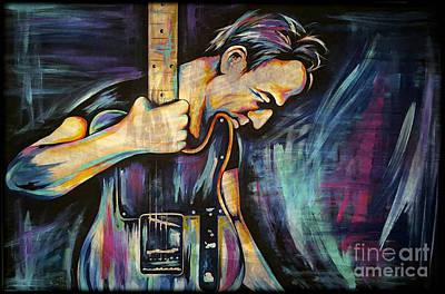 The Boss Music Rock Art Prints