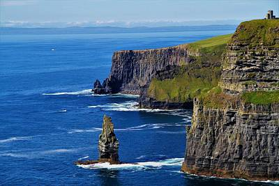 Photograph - The Cliffs of Moher by Andrew Verdi